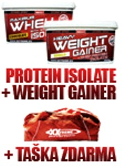 Whey Protein Isolate + Weight Gainer